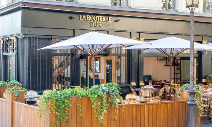 Offre de reprise dans le cadre d'une procédure de redressement judiciaire : BOUTEILLE D'OR, restaurant sur les quais avec vue sur Notre-Dame de Paris